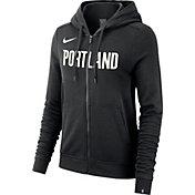 Nike Women's Portland Trail Blazers Full-Zip Hoodie