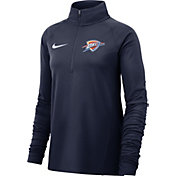 Nike Women's Oklahoma City Thunder Dri-FIT Element Half-Zip Pullover