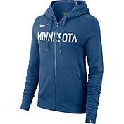Nike Women's Minnesota Timberwolves Full-Zip Hoodie