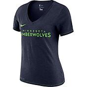 Nike Women's Minnesota Timberwolves Dri-FIT V-Neck T-Shirt