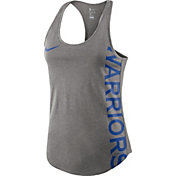 Nike Women's Golden State Warriors Grey Racerback Tank