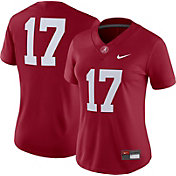 Nike Women's Alabama Crimson Tide #17 Crimson Dri-FIT Game Football Jersey