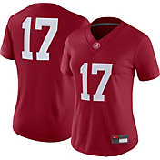 Nike Women's Alabama Crimson Tide #17 Crimson Game Football Jersey