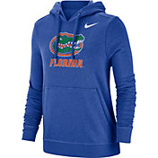 Nike Women's Florida Gators Blue Club Fleece Pullover Hoodie