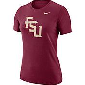 Nike Women's Florida State Seminoles Garnet Dri-FIT Logo Crew T-Shirt