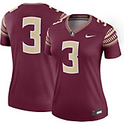 3aae69db Product Image · Nike Women's Florida State Seminoles #3 Garnet Legend  Football Jersey