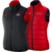 Nike Women's Ohio State Buckeyes Scarlet Shield Reversible Vest
