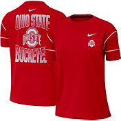 Nike Women's Ohio State Buckeyes Scarlet Breathe Crew Neck T-Shirt