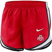 Nike Women's Ohio State Buckeyes Scarlet Dri-FIT Tempo Shorts
