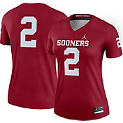 Jordan Women's Oklahoma Sooners #2 Crimson Dri-FIT Legend Football Jersey