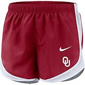 Nike Women's Oklahoma Sooners Crimson Dri-FIT Tempo Shorts