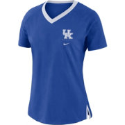 Nike Women's Kentucky Wildcats Blue Tri-Blend Basketball Fan T-Shirt