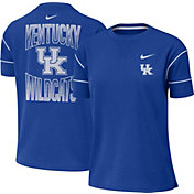 Nike Women's Kentucky Wildcats Blue Breathe Crew Neck T-Shirt