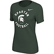 Nike Women's Michigan State Spartans Green Student Body T-Shirt