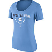 Nike Women's North Carolina Tar Heels Carolina Blue Basketball Mantra T-Shirt