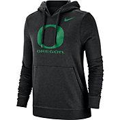 Nike Women's Oregon Ducks Club Fleece Pullover Black Hoodie