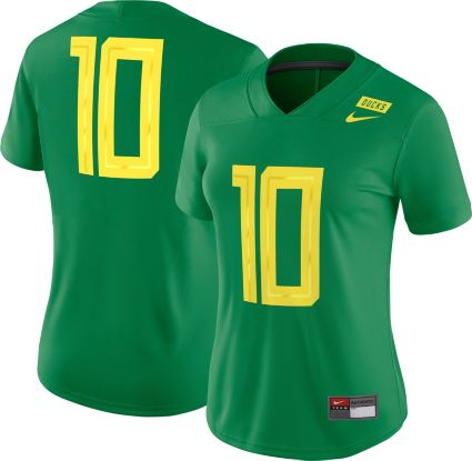 453f558b3 Nike Women s Oregon Ducks  10 Green Game Football Jersey. noImageFound