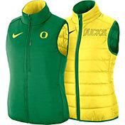 Nike Women's Oregon Ducks Yellow Shield Reversible Vest