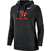 Nike Women's Oregon State Beavers Club Fleece Pullover Black Hoodie