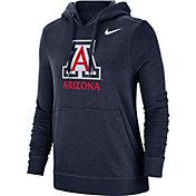 Nike Women's Arizona Wildcats Navy Club Fleece Pullover Hoodie