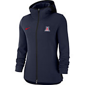 Nike Women's Arizona Wildcats Navy Dri-FIT Showtime Full-Zip Basketball Hoodie