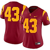 Nike Women's USC Trojans #43 Cardinal Dri-FIT Game Football Jersey