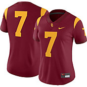 Nike Women's USC Trojans #7 Cardinal Game Football Jersey