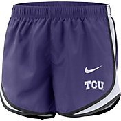 Nike Women's TCU Horned Frogs Purple Dri-FIT Tempo Shorts