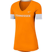Nike Women's Tennessee Volunteers Tennessee Orange Dri-FIT Fan V-Neck T-Shirt