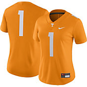 Nike Women's Tennessee Volunteers #1 Tennessee Orange Game Football Jersey