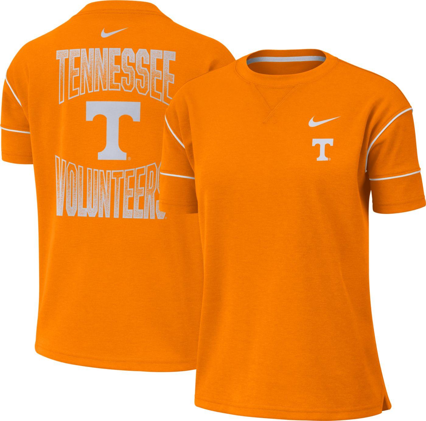 Nike Women's Tennessee Volunteers Tennessee Orange Breathe Crew Neck T-Shirt