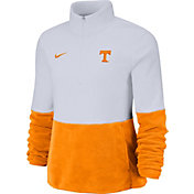 Nike Women's Tennessee Volunteers Cozy Therma White Half-Zip Fleece