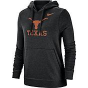 Nike Women's Texas Longhorns Club Fleece Pullover Black Hoodie