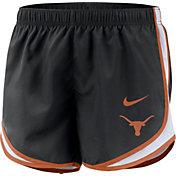 Nike Women's Texas Longhorns Dri-FIT Tempo Black Shorts