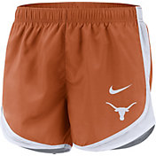 Nike Women's Texas Longhorns Burnt Orange Dri-FIT Tempo Shorts