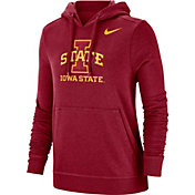 Nike Women's Iowa State Cyclones Cardinal Club Fleece Pullover Hoodie