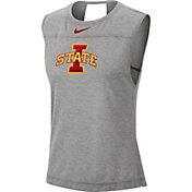 Nike Women's Iowa State Cyclones Grey Breathe Tank Top