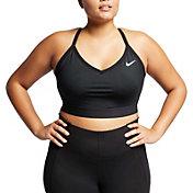 Nike Women's Plus Size Solid Indy Sports Bra