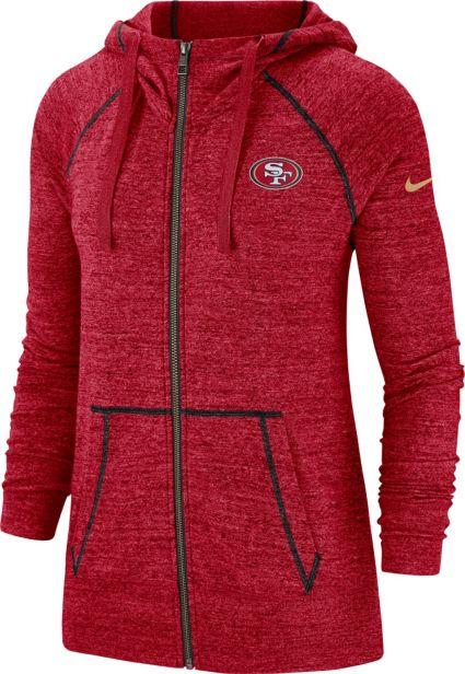 2a1c01d6 Nike Women's San Francisco 49ers Vintage Red Full-Zip Hoodie