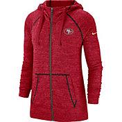 Nike Women's San Francisco 49ers Vintage Red Full-Zip Hoodie