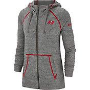 Nike Women's Tampa Bay Buccaneers Vintage Grey Full-Zip Hoodie