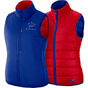 Nike Women's Buffalo Bills Sideline Reversible Red Shield Vest 2.0