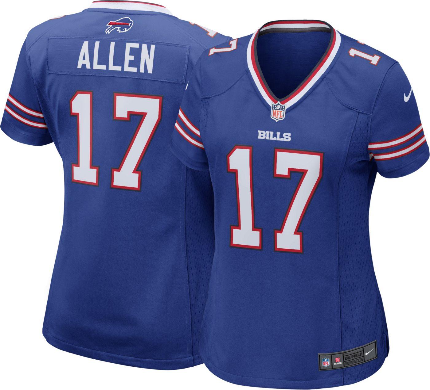 Nike Women's Home Game Jersey Buffalo Bills Josh Allen #17