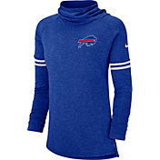 Nike Women's Buffalo Bills History Blue Funnel Pullover