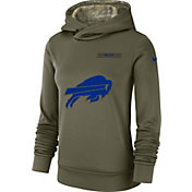 Nike Women's Salute to Service Buffalo Bills Therma-FIT Performance Hoodie