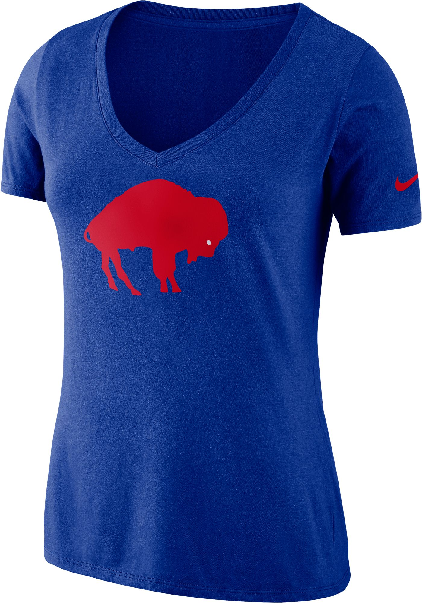 Nike Women's Buffalo Bills Tri-Blend Historic Royal T-Shirt