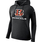 Nike Women's Cincinnati Bengals Logo Club Black Hoodie