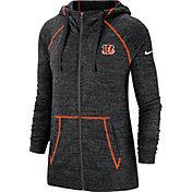 Nike Women's Cincinnati Bengals Vintage Black Full-Zip Hoodie