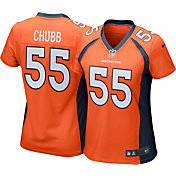 Bradley Chubb #55 Nike Women's Denver Broncos Home Game Jersey