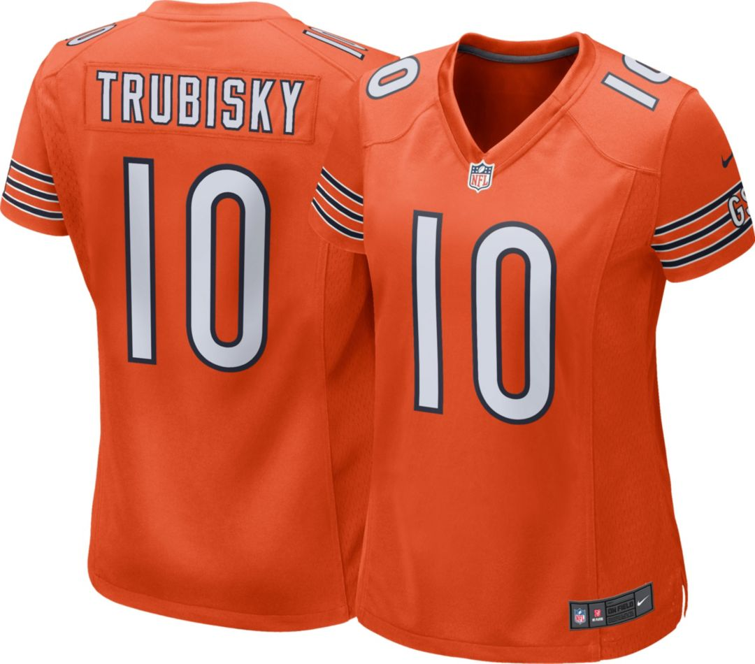 timeless design 58dd8 4473c Nike Women's Alternate Game Jersey Chicago Bears Mitchell Trubisky #10